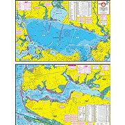 Hook-N-Line F133 Copano Bay Area Wade Fishing, Fly Fishing & Kayak Fishing Map (with GPS)