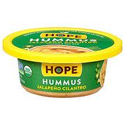 Hope Foods Organic Jalapeno Cilantro Hummus
