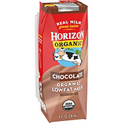 Horizon Organic Chocolate Low-Fat Milk
