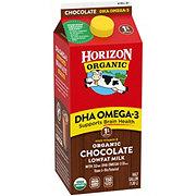 Horizon Organic DHA Omega-3 Chocolate 1% Lowfat Milk