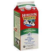 Horizon Organic Fat-Free Lactose-Free Milk