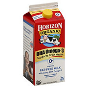 Horizon Organic Fat Free With DHA Omega-3 0% Milk