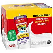 Horizon Organic Lowfat Vanilla Milk 6 PK