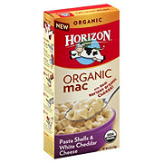 Horizon Organic Mac Pasta Shells and White Cheddar Cheese