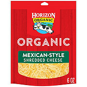 Horizon Organic Organic Finely Shredded Mexican Cheese