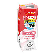 Horizon Organic Strawberry Low-fat Milk