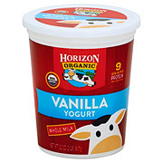 Horizon Organic Whole Milk Vanilla Organic Yogurt