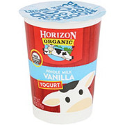 Horizon Organic Whole Milk Vanilla Yogurt