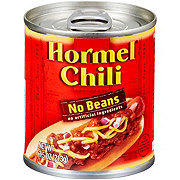 Hormel Chili No Beans