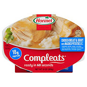 Hormel Compleats Chicken Breast & Gravy with Mashed Potatoes