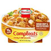Hormel Compleats Good Mornings Sausage Gravy and Roasted Potatoes