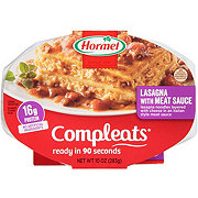 Hormel Compleats Homestyle Lasagna with Meat Sauce
