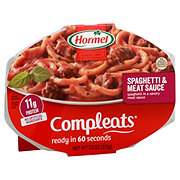 Hormel Compleats Homestyle Spaghetti & Meat Sauce