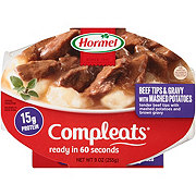 Hormel CompleatsBeef Tips & Gravy with Mashed Potatoes