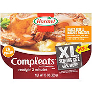 Hormel Compleats XL Roast Beef And Mashed Potatoes