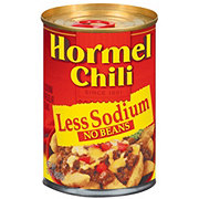 Hormel Less Sodium Chili No Beans