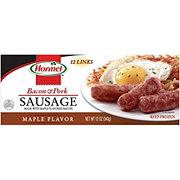 Hormel Maple Bacon & Pork Sausage