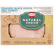 Hormel Natural Choice Cracked Black Pepper Deli Turkey