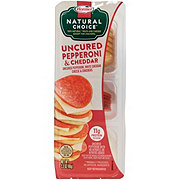 Hormel Natural Choice Stacks Uncured Pepperoni & Cheddar