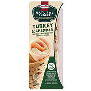 Hormel Natural Choice Turkey and Cheese Wrap