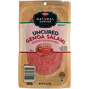 Hormel Natural Choice Uncured Genoa Salami