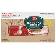 Hormel Natural Choice Uncured Original Sliced Bacon