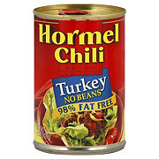Hormel No Beans Turkey 98% Fat Free Chili