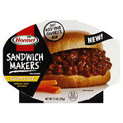 Hormel Sandwich Makers Sloppy Joe Barbecue Sauce with Beef