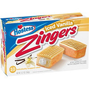 Hostess Zingers Iced Vanilla
