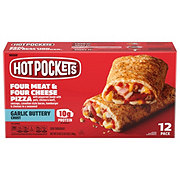 Hot Pockets Four Meat & Four Cheese Pizza Value Pack