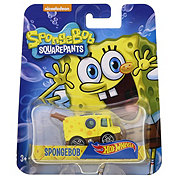 Hot Wheels Assorted Sponge Bob Square Pants Die Cast Vehicles