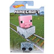 Hot Wheels Minecraft Assorted Die-Cast Vehicles & Figures
