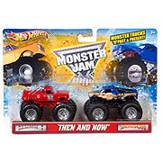 Hot Wheels Monster Jam Then and Now Vehicle Assortment