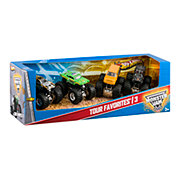 Hot Wheels Monster Jam Tour Favorites Assortment