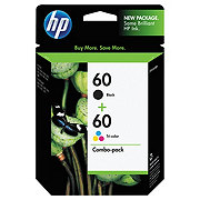 HP 60 Combo Pack Ink Cartridge