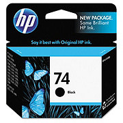 HP Black 74 Ink Cartridge