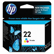 HP Tri-Color 22 Ink Cartridge