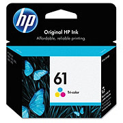 HP Tri Color 61 Ink Cartridge