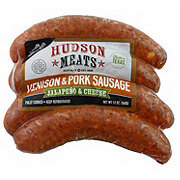 Hudson Vension & Pork, Jalapeno & Cheese Sausage