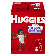 Huggies Little Movers Diapers 104 ct