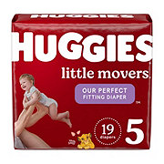 Huggies Little Movers Diapers, 21 ct