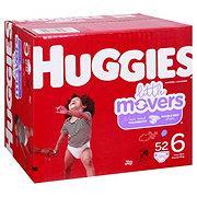 Huggies Little Movers Diapers 54 ct