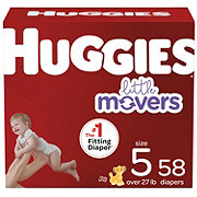 Huggies Little Movers Diapers 60 ct
