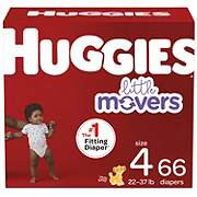Huggies Little Movers Diapers 74 ct