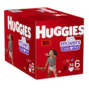 Huggies Little Movers Diapers 76 ct