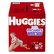 Huggies Little Movers Diapers 96 ct