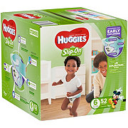 Huggies Little Movers Slip-On Diaper Pants 52 ct
