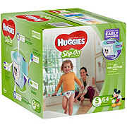 Huggies Little Movers Slip-On Diaper Pants 64 ct