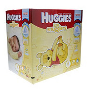 Huggies Little Snugglers Diaper Giant Pack, 132 Count