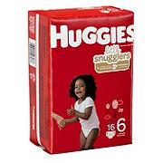 Huggies Little Snugglers Diaper Jumbo, 17 ct